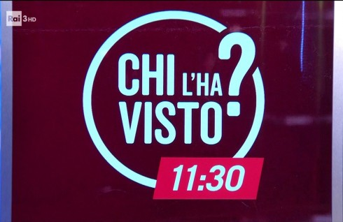 """Chi l'ha visto? 11.30"" puntata 27 marzo 2019 (VIDEO)"