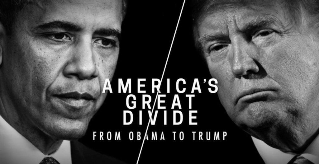 """""""America's Great Divide From Obama to Trump RaiPlay"""" (VIDEO)"""